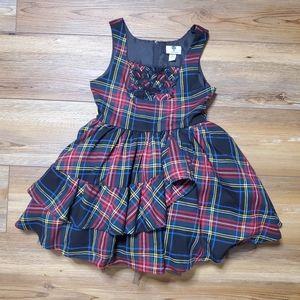 Harajuku Mini Target Girls Plaid Mini Dress Size M
